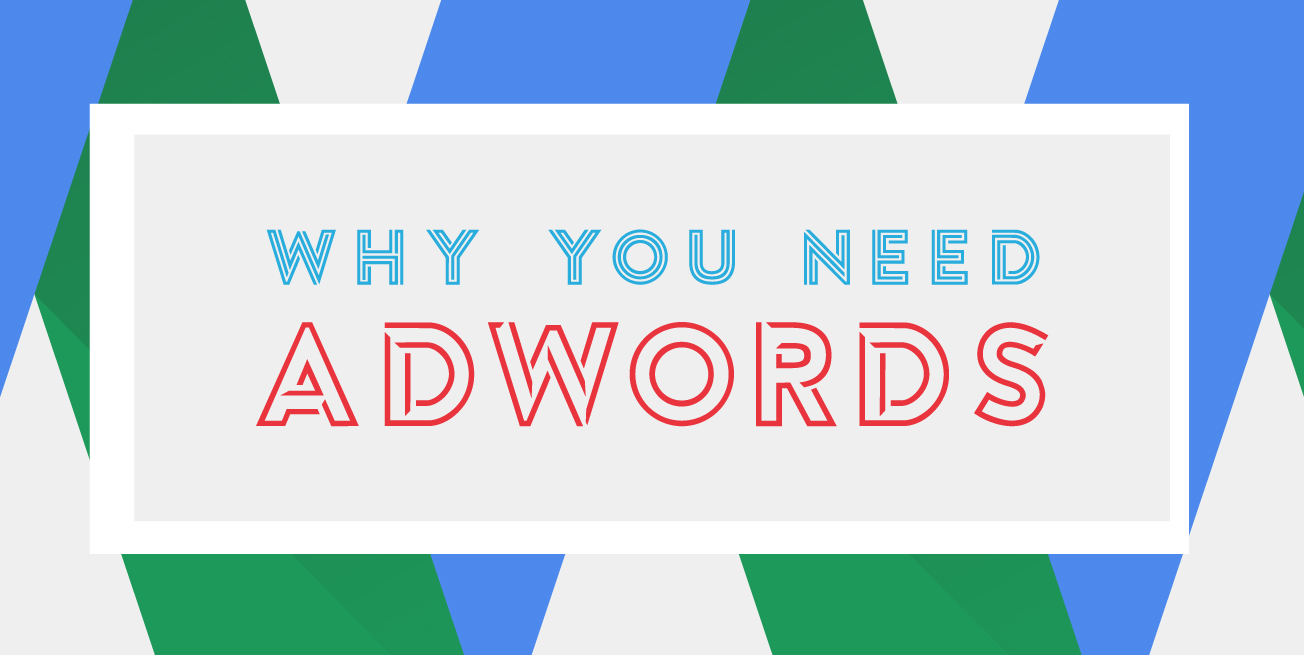 Why you need Adwords