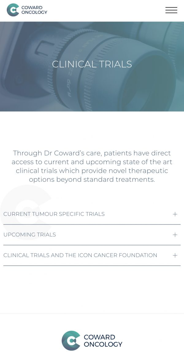 Coward Oncology