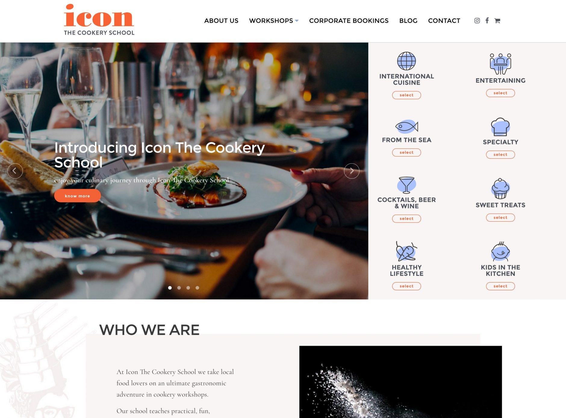 Icon Cookery School
