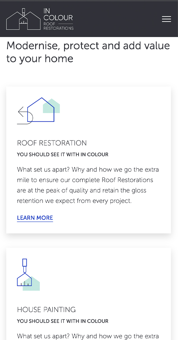 In Colour Roof Restoration